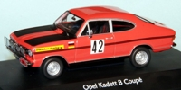 Opel Kadett B Coupe  1. Tour d'Europe 1969  Waldner